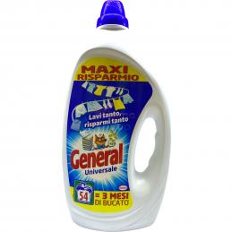 General total universale 54 lavaggi 2,7 litri