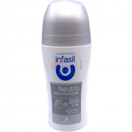 Infasil deodorante roll on neutro tripla protezione 50 ml