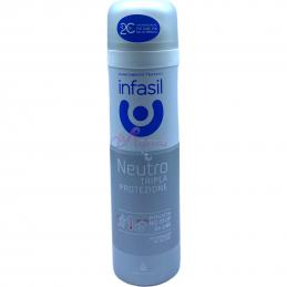 Infasil deodorante spray neutro tripla protezione 150 ml