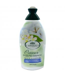 L'Angelica bagno schiuma delicato cotone e muschio bianco 500 ml