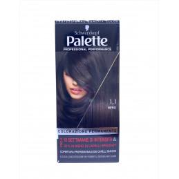 Palette colorazione permanente 1-1 nero