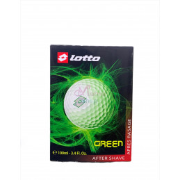 Lotto aftershave green 100 ml