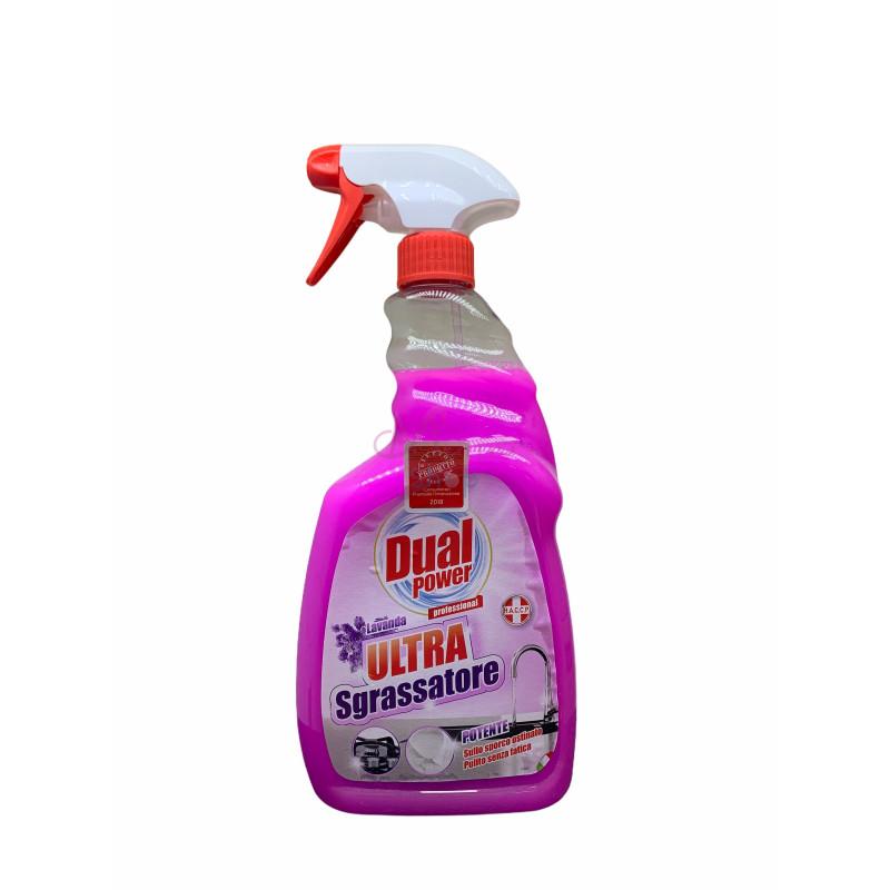 Dual power sgrassatore lavanda spray 750 ml
