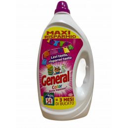 General lavatrice color 54 lavaggi 2,7 litri