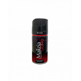 Malizia deodorante uomo musk 150 ml