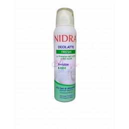 Nidra deodorante deolatte fresh invisibile 150 ml