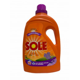Sole lavatrice 40 lavaggi freschezza naturale lavanda 2 litri