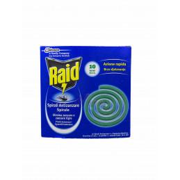 Raid spirali antizanzare 10 pezzi
