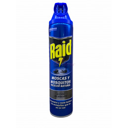 Raid insetticida spray mosche e zanzare 600 ml