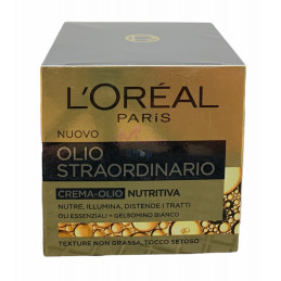 L'Oreal crema viso olio straordinario nutritiva 50 ml