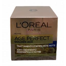 L\'Orèal age perfect gold age trattamento ricco fortificante notte 50 ml