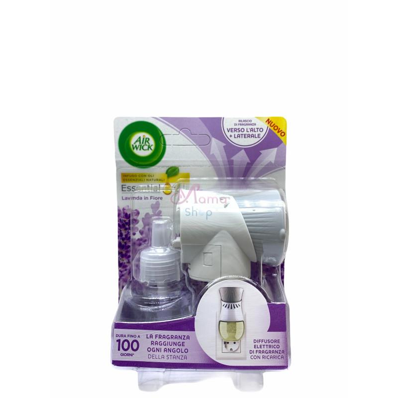 Air wick diffusore elettrico+ricarica lavanda in fiore 19 ml