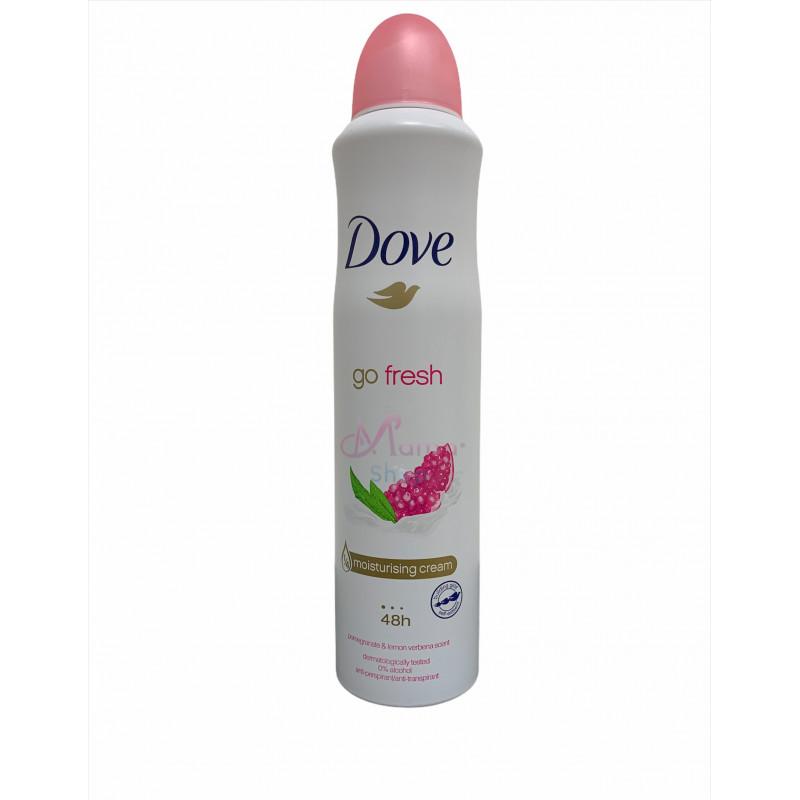 Dove deodorante spray go fresh melograno 250 ml