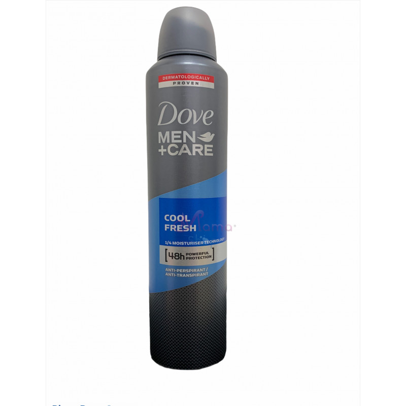Dove deodorante spray men cool fresh 250 ml