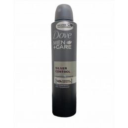 Dove deodorante spray men silver control 250 ml