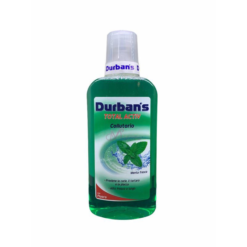 Durban's colluttorio total activ menta fresca con fluoro 500 ml