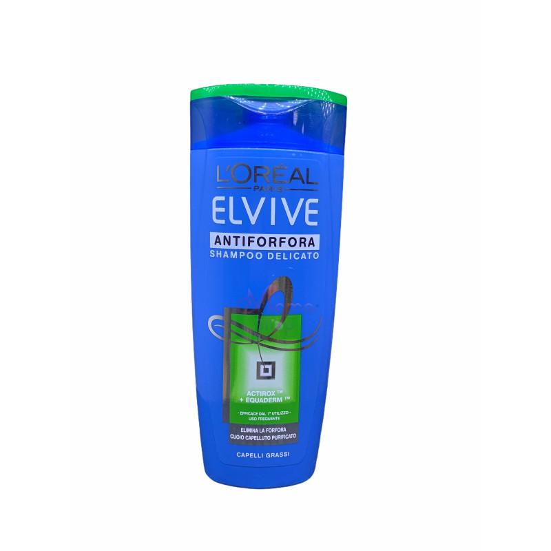 Elvive shampoo antiforfora delicato capelli grassi 250 ml