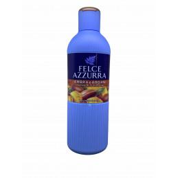 Felce azzurra bagno doccia ambra e argan essenza di nutrimento 650 ml