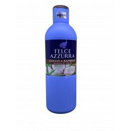 Felce azzurra bagno doccia cocco e bamboo essenza di vitalità 650 ml