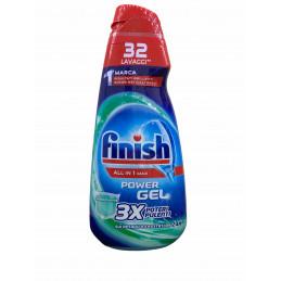 Finish gel lavastoviglie igienizzante all in 1 max 650 ml