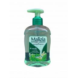Malizia sapone liquido dosatore antibatterico tè verde 300 ml