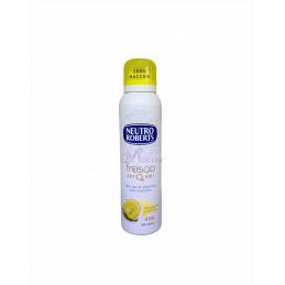 Neutro roberts deodorante spray fresco bergamotto e zenzero zero macchie 150 ml