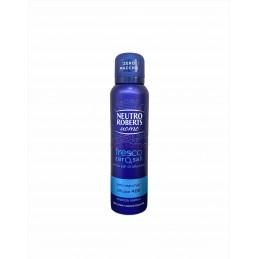 Neutro roberts deodorante spray uomo fresco essenza marina 150 ml