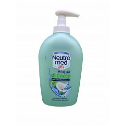 Neutromed sapone liquido dosatore acqua di cocco 300 ml