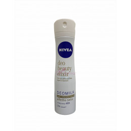 Nivea deodorante spray beauty elixir effetto seta 150 ml