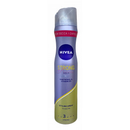 Nivea styling spray strong hold tenuta 3 strong 250 ml