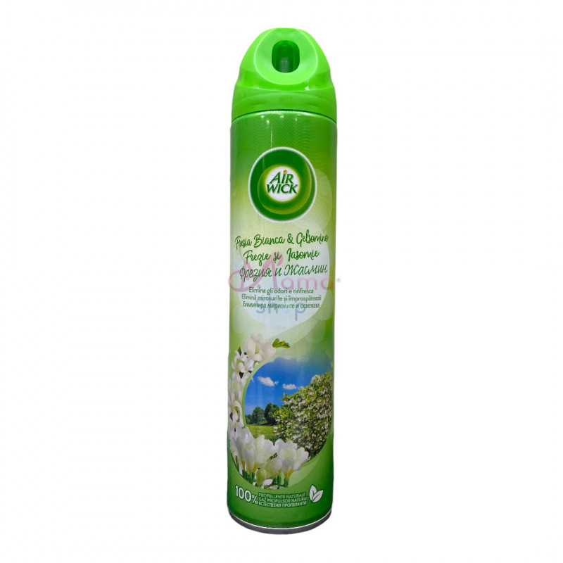 Air wick deodorante ambienti spray fresia bianca e gelsomino 240 ml