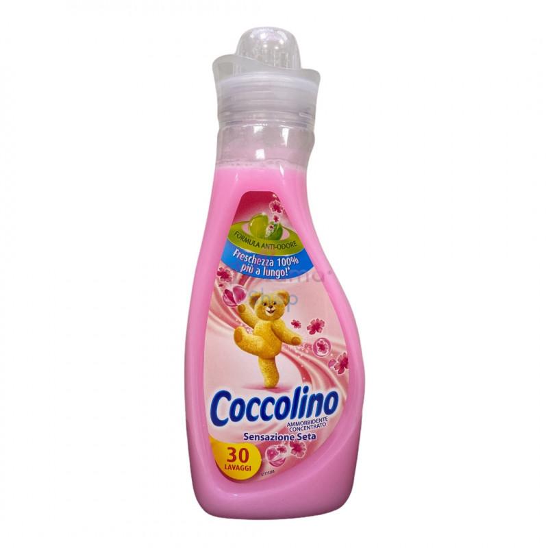 Coccolino ammorbidente concentrato sensazione seta 30 lavaggi 750 ml